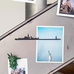 Mini siluetas de ciudades