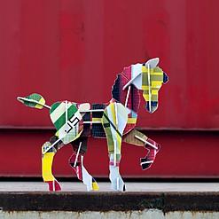 """Caballo de Cartón """"Totem Horse"""""""