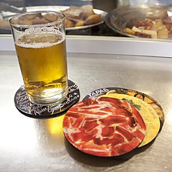100% Spanish Tapas Coasters