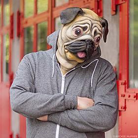 Máscara de Perro Carlino