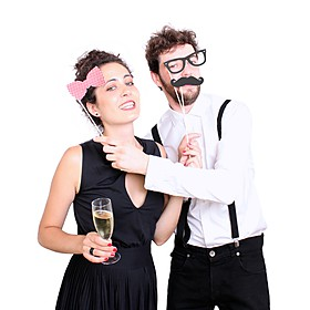 "Accesorios para Fotos Divertidas ""Photo Booth"""