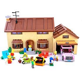 Casa de Los Simpsons de LEGO