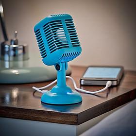 Altavoz con Forma de Micrófono Retro