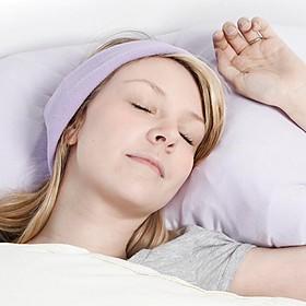 Auriculares para dormir en color lila