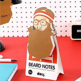 Notas Adhesivas Barba