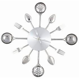 Reloj de cubiertos - Reloj cocina diseno ...