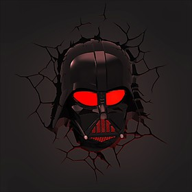 "Luz Quitamiedos ""3D Deco Lights"" Darth Vader"
