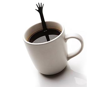 """Cucharillas de Café """"Choca esos Cinco"""""""
