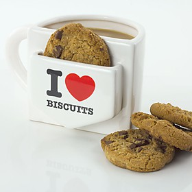 Taza con Bolsillo I Love Biscuits