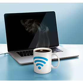 Taza que Cambia de Color Icono WiFi