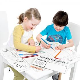 Periódico para Dibujar y Colorear
