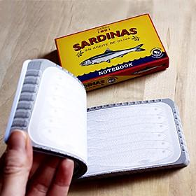 Bloc de Notas Lata de Sardinas