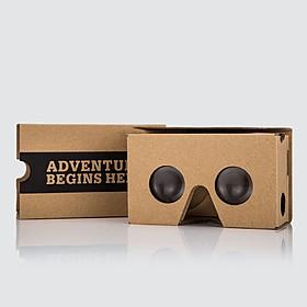 Curiosite Gafas de Realidad Virtual de Cartón