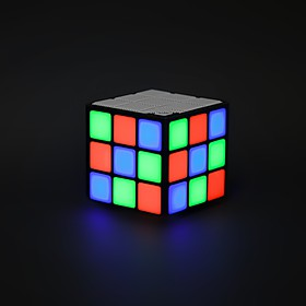 Altavoz Bluetooth Cubo LED