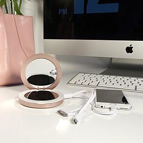 Cargador Portátil Espejo Compacto Pearl
