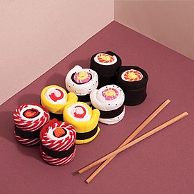 Calcetines originales con forma de maki