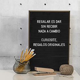 Tablero de Letras Intercambiables Letter Board