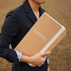 Taburete Plegable de Cartón en Forma de Libro Bookniture