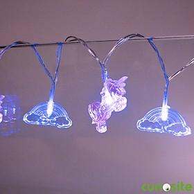 Guirnalda de Luces Unicornios