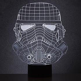 Lámpara 2D Stormtrooper