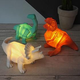 Mini Lámpara de Dinosaurios Origami