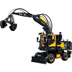 Excavadora Volvo EW 160E de LEGO