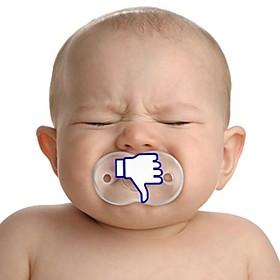 Chupete original me gusta o no me gusta de Facebook