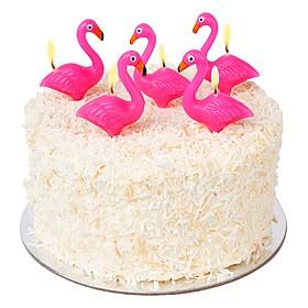 Velas de Cumpleaños Flamencos Rosas
