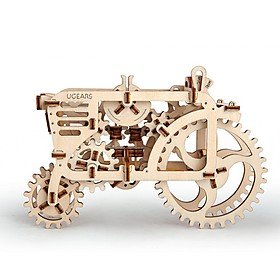 Tractor de Madera de Ugears