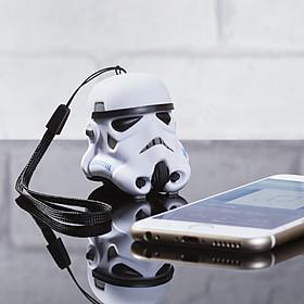 Minialtavoz Bluetooth con forma de casco de stormtrooper