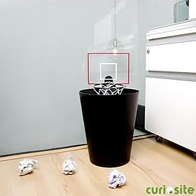 Canasta de baloncesto con sonido para la papelera