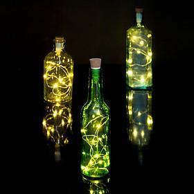 Tapón de Luz con Guirnalda LED