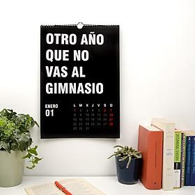 Calendario 2018 Otro Año de Mierda