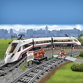 Tren de Pasajeros de Alta Velocidad de LEGO