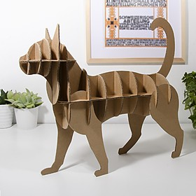 Michi: el gato de cartón para montar