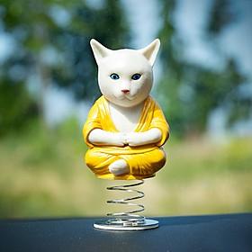 Gato Budista para el Coche
