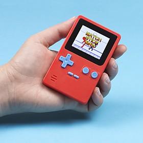 Consola retro de bolsillo con videojuegos arcade