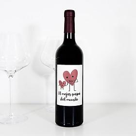 Vino Rioja Reserva El mejor Papá del Mundo