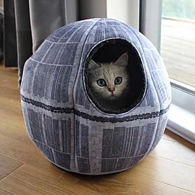 Casa para Gatos Estrella de la Muerte