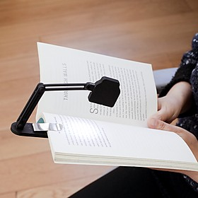 Lámpara de lectura ajustable tipo flexo