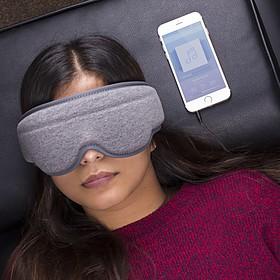 Antifaz para dormir con auriculares incorporados