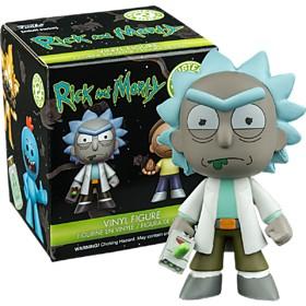 Minifiguras de Rick y Morty en Caja Sorpresa
