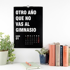 El calendario para 2019 de Miss Miserable