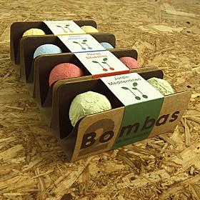 Bombas de semillas para combatir el cambio climático
