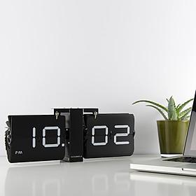Reloj flip de diseño clásico en tamaño grande