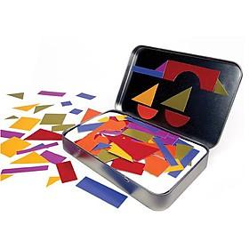 Imanes de nevera de formas geométricas para diseñar