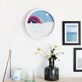 Reloj de pared día y noche