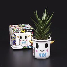 Macetero de cerámica Yo de Tokidoki