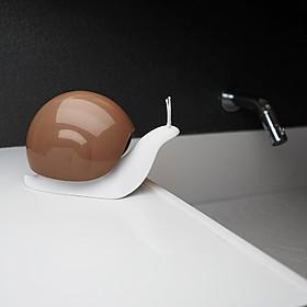 Dispensador de jabón con forma de caracol