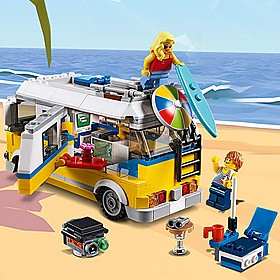 Furgoneta de playa de LEGO CREATOR